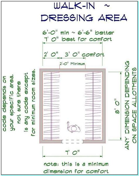 Walk In Closet Measurements by Best 25 Walk In Closet Dimensions Ideas On
