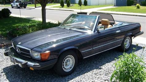 Might be more as i drive it. WOW ORIGINAL SURVIVOR! 1984 Mercedes Benz 380SL Roadster Convertible W/Hardtop for sale: photos ...