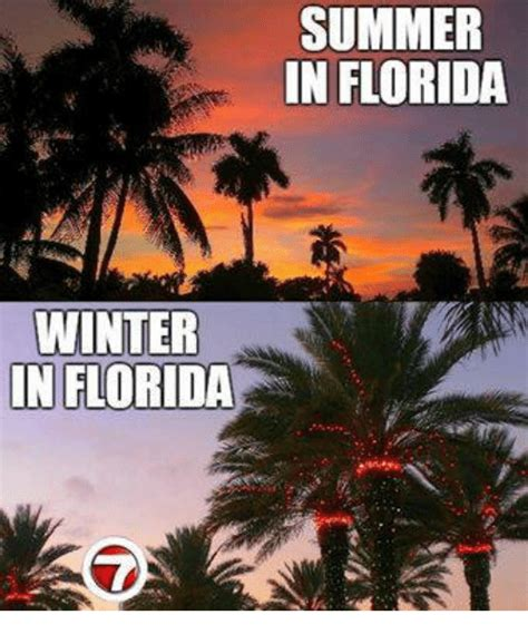 Florida Winter Meme - winter in florida summer in florida meme on me me