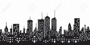 buildings and green spaces vector stencils library clipart With best brand of paint for kitchen cabinets with new york cityscape wall art