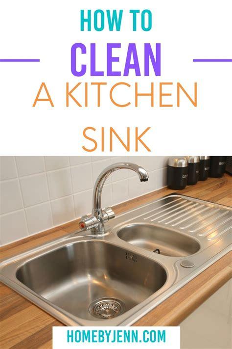 clean  kitchen sink home  jenn
