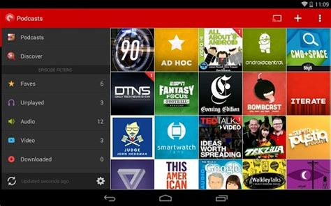 podcast app android 5 best podcast apps in android app