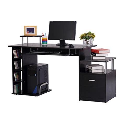 bureau pc meuble bureau pour ordinateur table meuble pc informatique en mdf