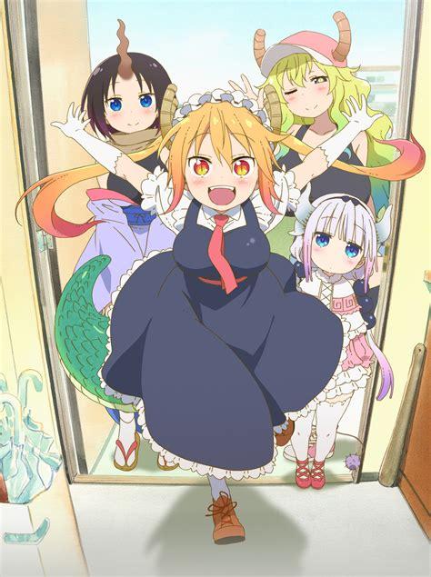 kobayashis dragon maid anime animeclickit