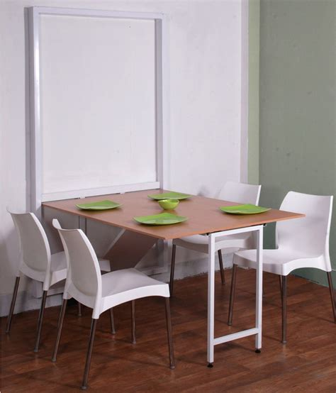 spaceone 4 seater space saving dining table buy spaceone 4 seater space saving dining table