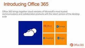 Overview Of Office 365 Presentation By Sajid