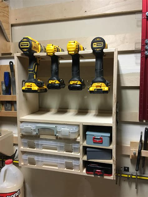 Garage Organization Workshop Tools by Replaced My Drill Rack With A New One For My
