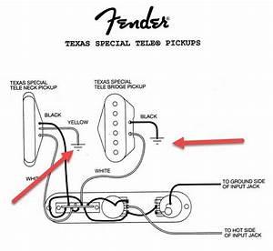 Fender Strat Texas Special Wiring Diagram