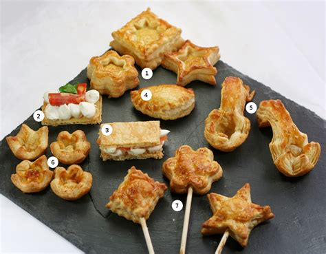 posh canape recipes flaky pastry to cook