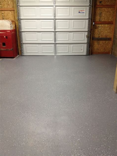 garage floor paint metallic behr 1 part epoxy garage floor paint with metallic flakes from the home depot 31 gallon plus