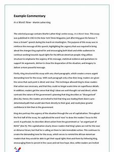Topics Of Essays For High School Students Evaluative Commentary Essay Sample Template What S A Thesis Statement Reflective Essay On English Class also George Washington Essay Paper Commentary Essay Sample College App Personal Statement Commentary  Thesis Generator For Essay