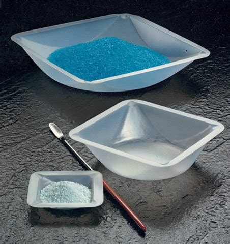 Micro Weighing Boat by Plastic Square Weigh Boats Small Dish 100pk Induction