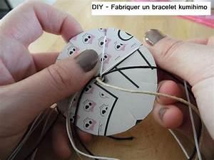 Fabriquer Un String : diy fabriquer un bracelet kumihimo partir de 6 ans ~ Zukunftsfamilie.com Idées de Décoration