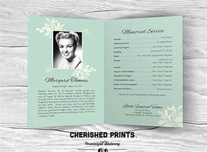 9 funeral program template free word pdf doc psd formats With free editable funeral program template