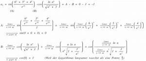 Grenzwert Berechnen Beispiele : grenzwert berechnen a sin 6 n 5 n 4 n e 2n cos ln n n sqrt n 3 3 mathelounge ~ Themetempest.com Abrechnung