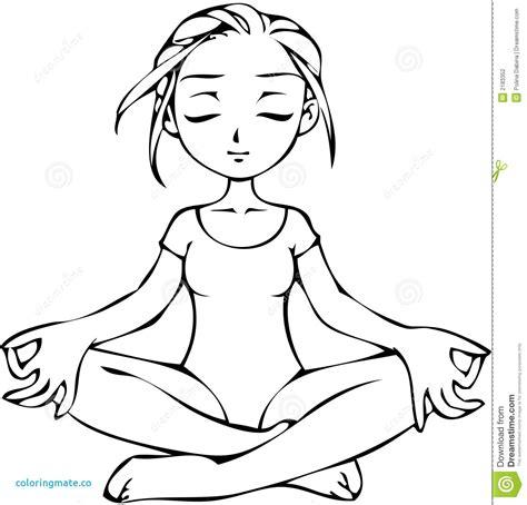 Namaste Yoga Drawings Shefalitayal