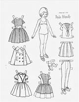Coloring Paper Pages Dolls Freda Doll Friendly 1962 Friend Children Papel Picasaweb Google источник Uploaded User sketch template