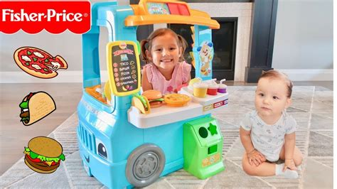 cuisine r馗up servin 39 up food truck fisher price