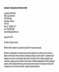 Free 7 Sample Employee Recommendation Letter Templates In