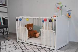Lit Au Sol Pour Bébé : le lit de b b fa on montessori on a essay et chou ~ Dallasstarsshop.com Idées de Décoration