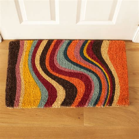 Funky Doormat by Funky Striped Doormat To Buy Uk