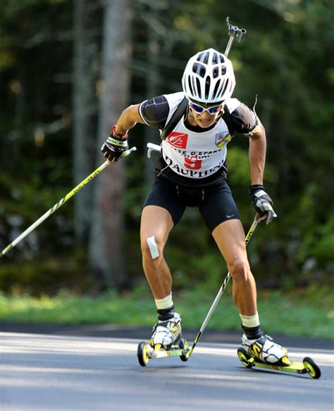 biathlon chrono des biathletes dauphinois  correncon