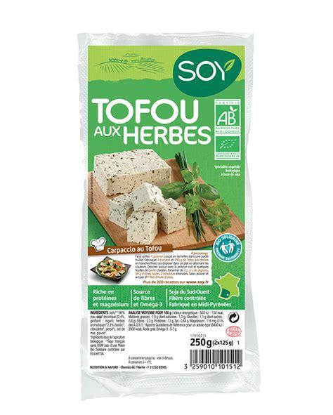 comment cuisiner tofu tofou aux herbes soy