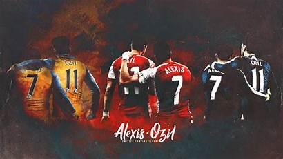 Alexis Sanchez Arsenal Ozil Mesut Background Pixelstalk