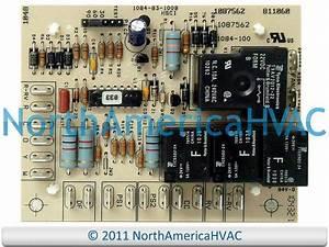 Honeywell Heat Pump Defrost Control Circuit Board 1084