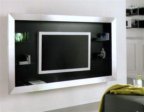 album  tv accrochee au mur ou integree serie