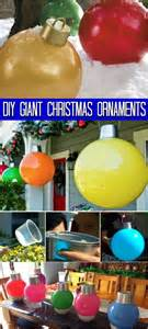 how to make your own giant christmas ornaments news popcorn