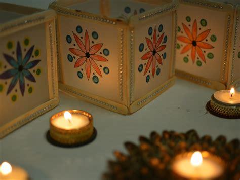 Mini Mandala Diwali Lantern With Popsicles In 5 Minutes