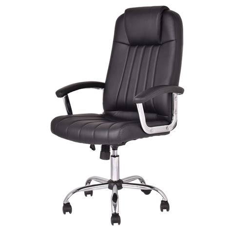 high back desk chair new ergonomic pu leather high back executive computer desk