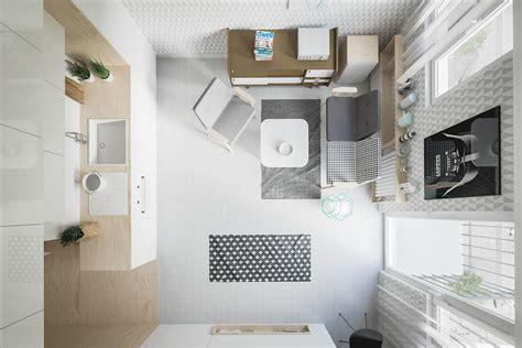 designer cuisine interni small luce e spazio in un monolocale di 20