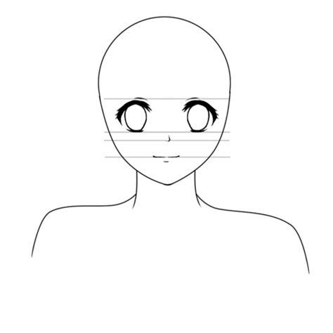 Anime Face Template