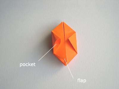 origami halloween pumpkin folding instructions