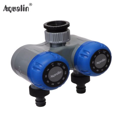 hose faucet timer wifi aliexpress buy 2016 dual outlet two outlet