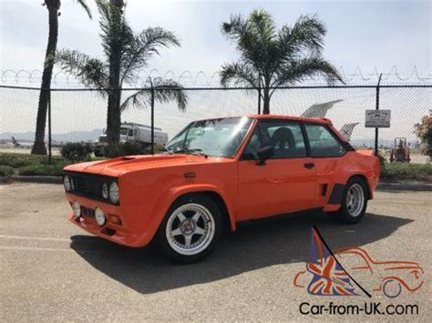 Fiat 131 Abarth For Sale by 1976 Fiat 131
