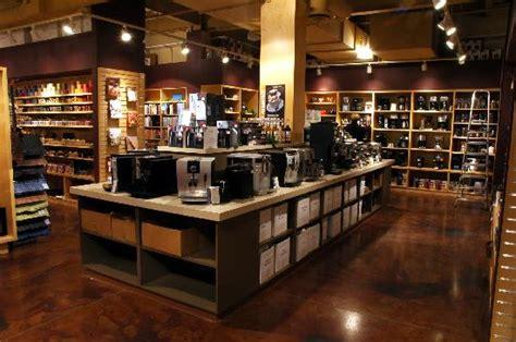 kitchen window retail store coffee espresso area