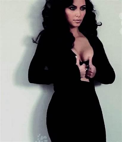Kardashian Kim Giphy Gifs Cuerpo Sister West