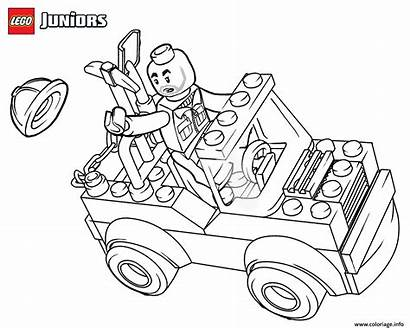 Coloring Construction Lego Truck Dessin Coloriage Printable
