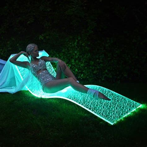 Lumiluxe LED Lounge Chair by the German Company BeMoss