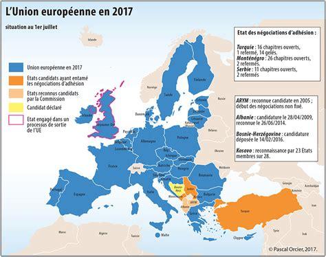 Carte Europe Avec Capitales 2016 by L Europe Entre Associations Alliances Et Partenariats L