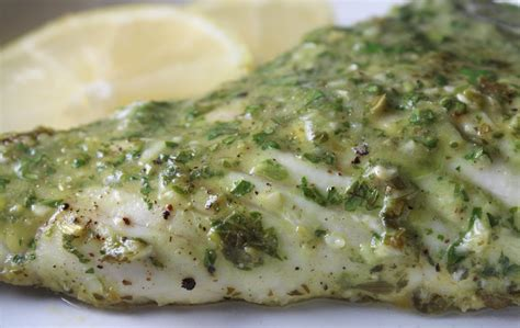 grouper lemon parsley sauce garlic lemons