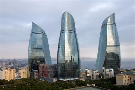 Blog Blanco: Flame Towers, Baku, Azerbaijan