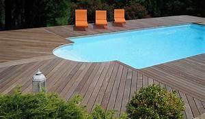 une terrasse splendide et naturelle en parquet jardin deco With parquet jardin