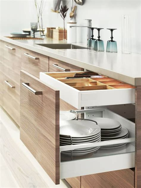 ikea kitchen cabinet organizers apartment therapy