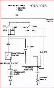 1977 Gmc C25 A  C Compressor Clutch Wiring
