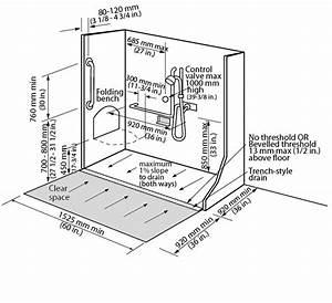 Image Result For Handicap Shower Dimensions