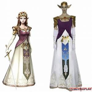 The Legend of Zelda Princess Zelda Cosplay Wedding Dress
